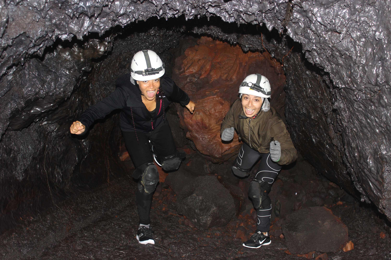 LA REUNION #2 : exploration d'un tunnel de lave