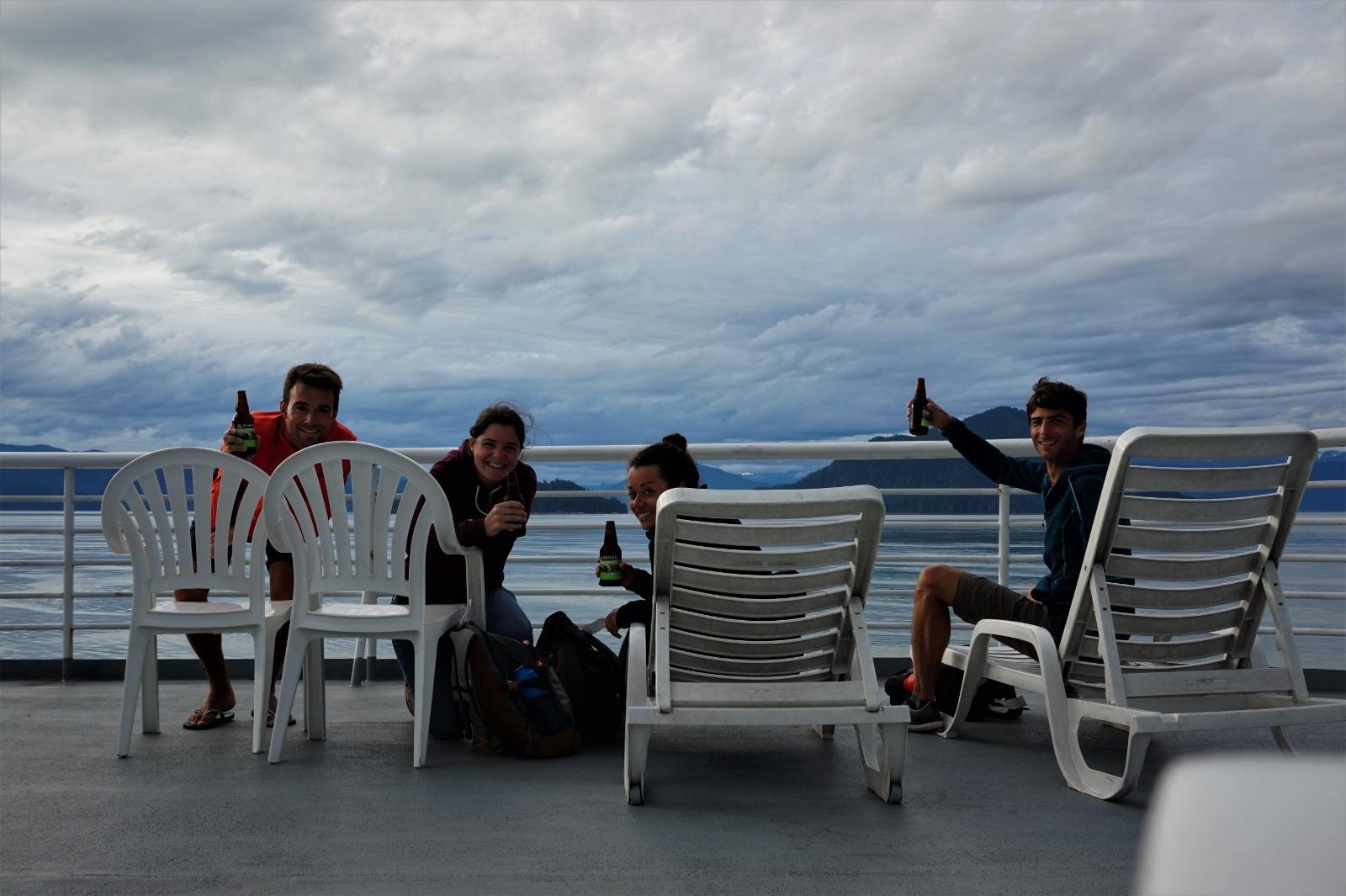 En route vers l'Alaska