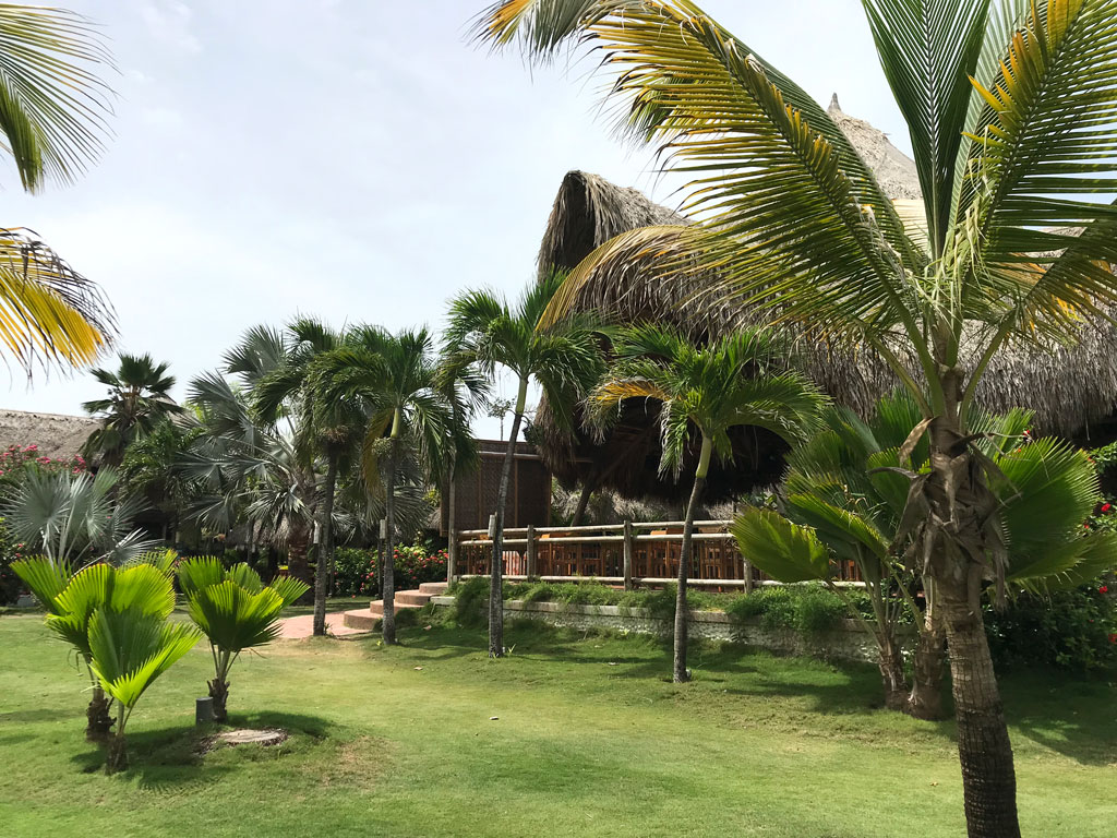 Hotel Mucura près de Carthagène en Colombie
